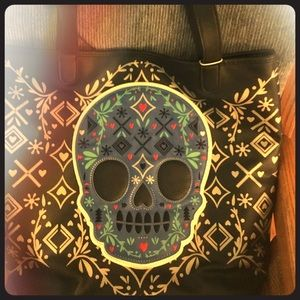 Sugar Skull Shop Tote